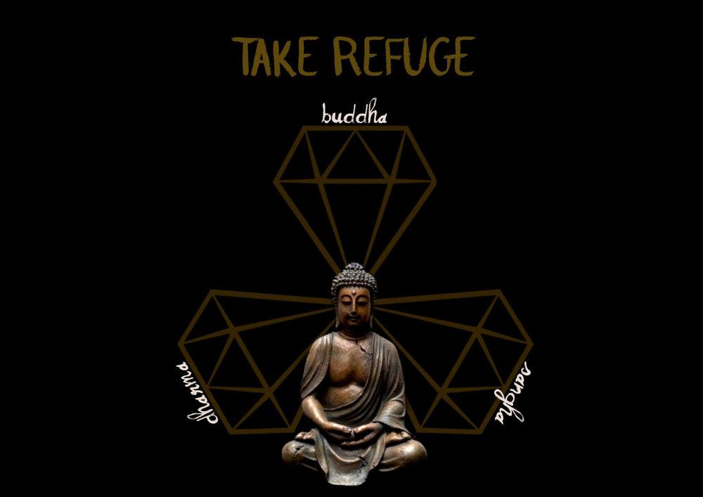 Buddha refuge