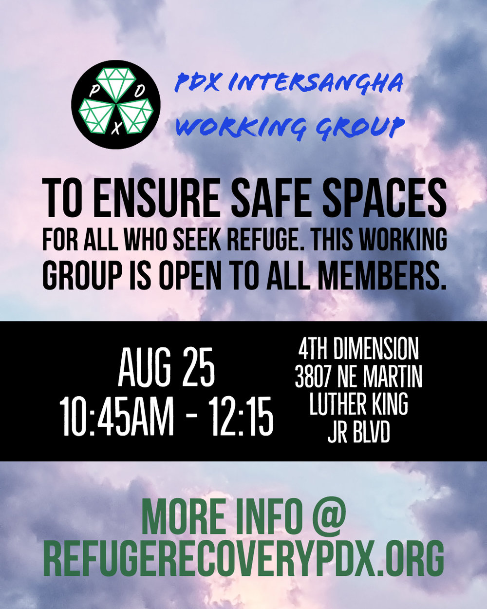 - Please join us at the next one on August 25!