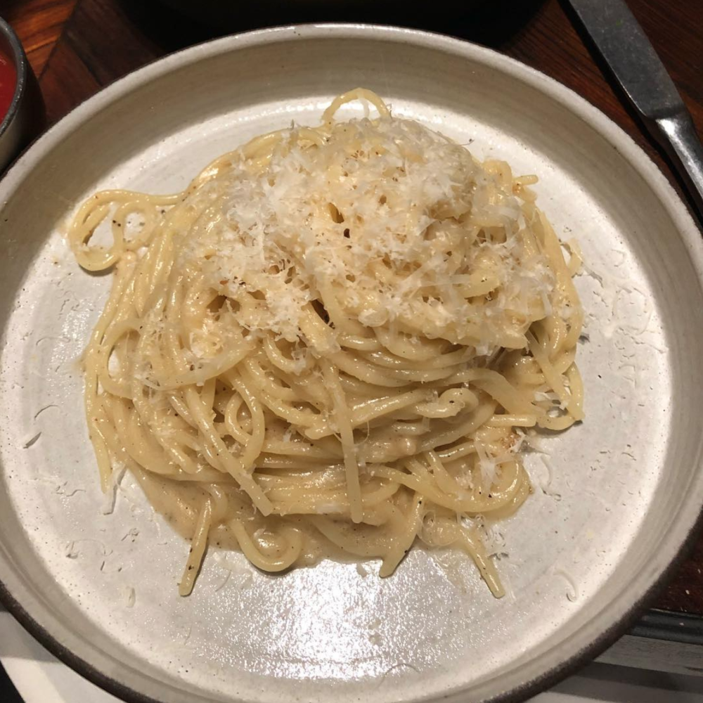 First time eating Cacio e Pepe back in December 2017
