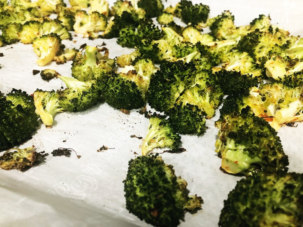 It's seriously hard to beat roasted broccoli.