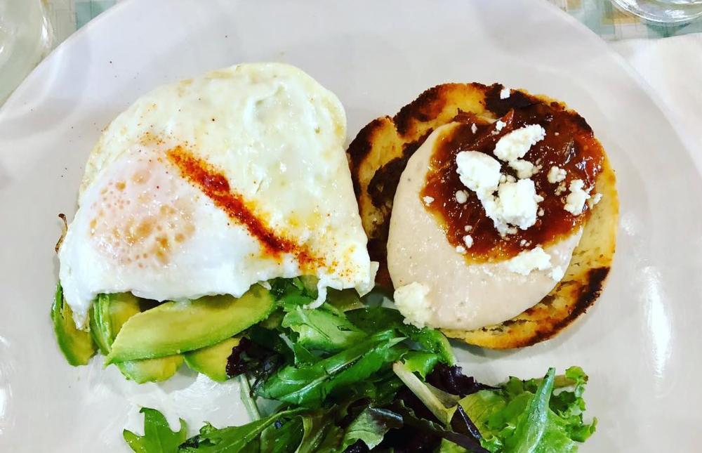 Veggie Biscuits via Aurora Breakfast, Bar & Backyard