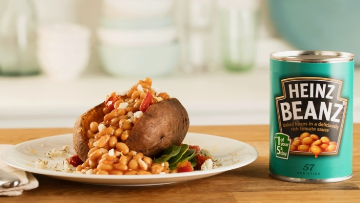 Just another display of the versatility of Heinz beans! Photo via The Food Network UK.