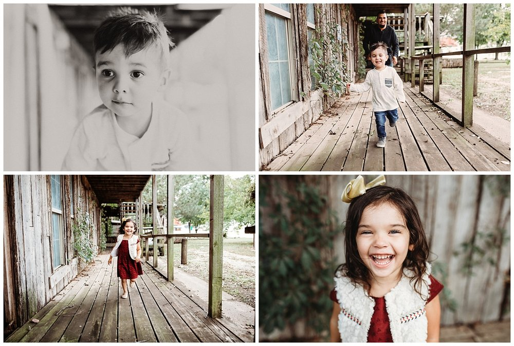 Kids running, playing and having fun. Lifestyle family photographer in Oklahoma.