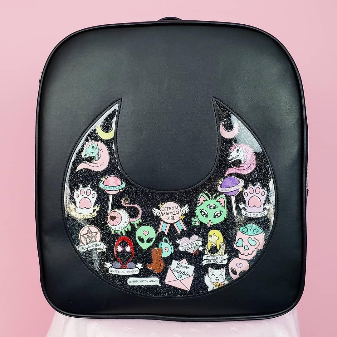 ♡ Moon Pin Bags ♡ — NattyCat