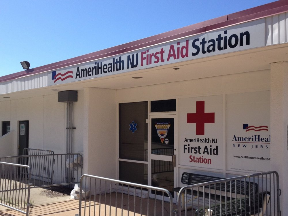 PNC Arts Center First Aid Station Branding