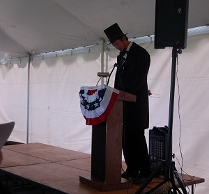President Lincoln - Master of Ceremony