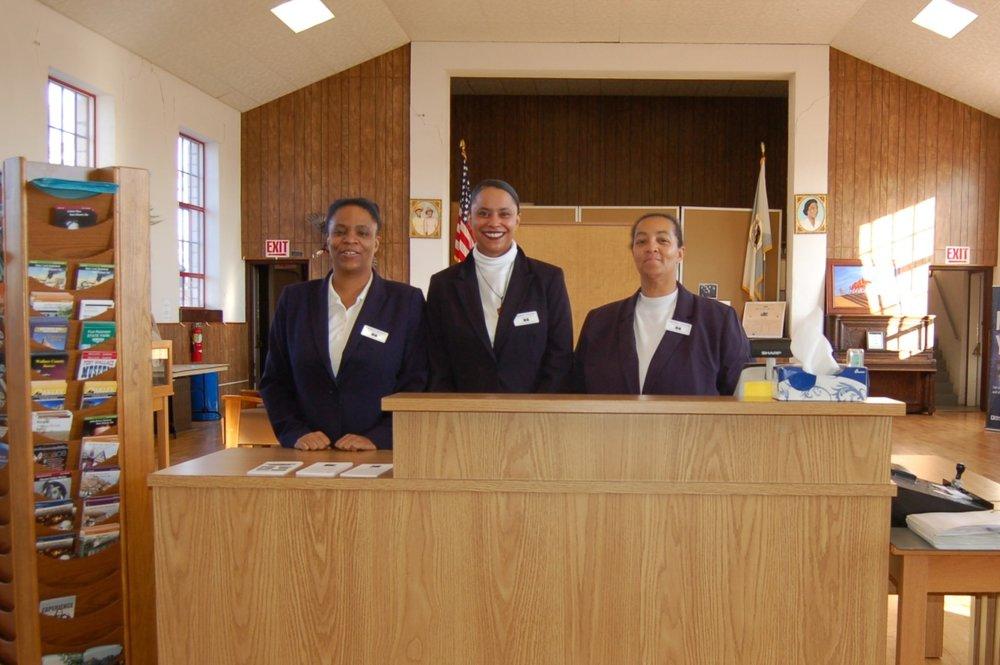 LueCreasea Horne,  Shante Rhyines, and Karla Adams