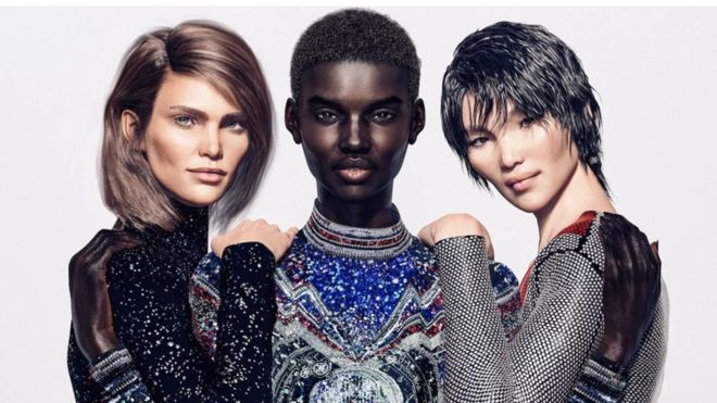 The rise of CGI models - They have the perfect angular cheekbones and ooze glamour most could never manage. But Shudu, Margot and Zhi don't exist. What do Insta-friendly CGI models mean for real-life models?