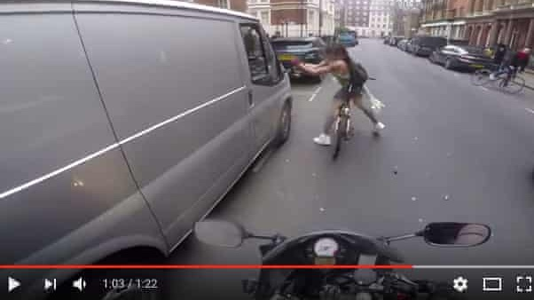 This viral video of a cyclist's revenge is not all it seems - The video of woman tearing wing mirror from catcaller's van was viral dynamite – but no one verified it before covering the story.