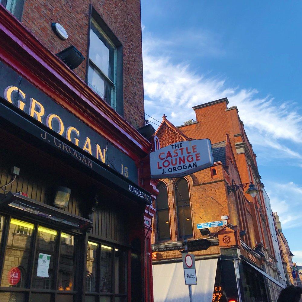 Grogan's Pub in Dublin