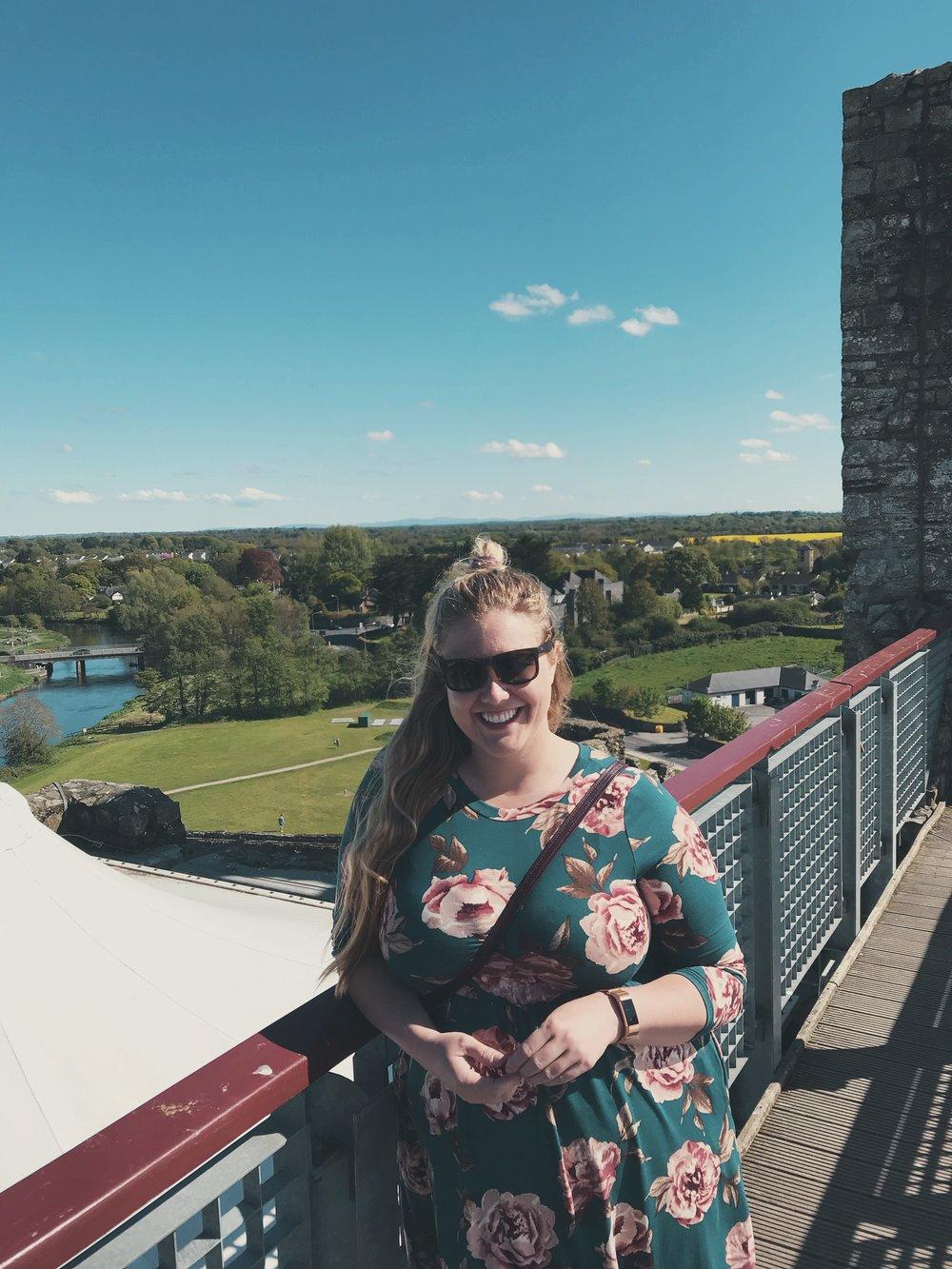 Top of Trim Castle