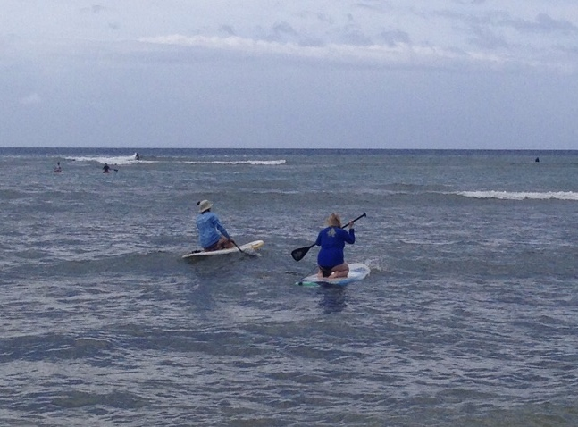 Stand Up Paddle Boarding in Lahaina