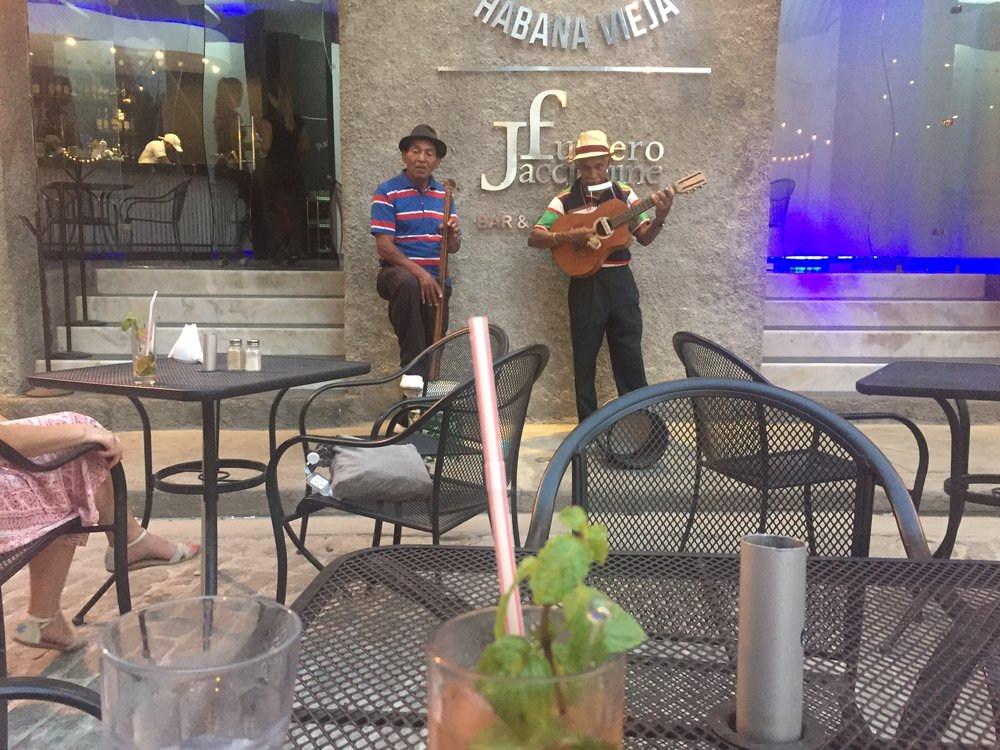 Live music and mojitos in Havana