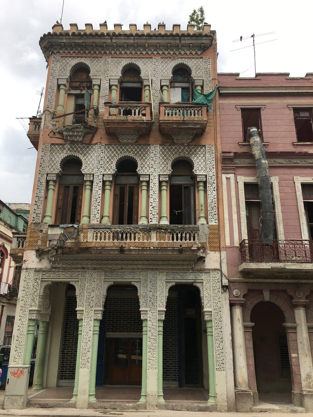 Apartment building in Old Havana