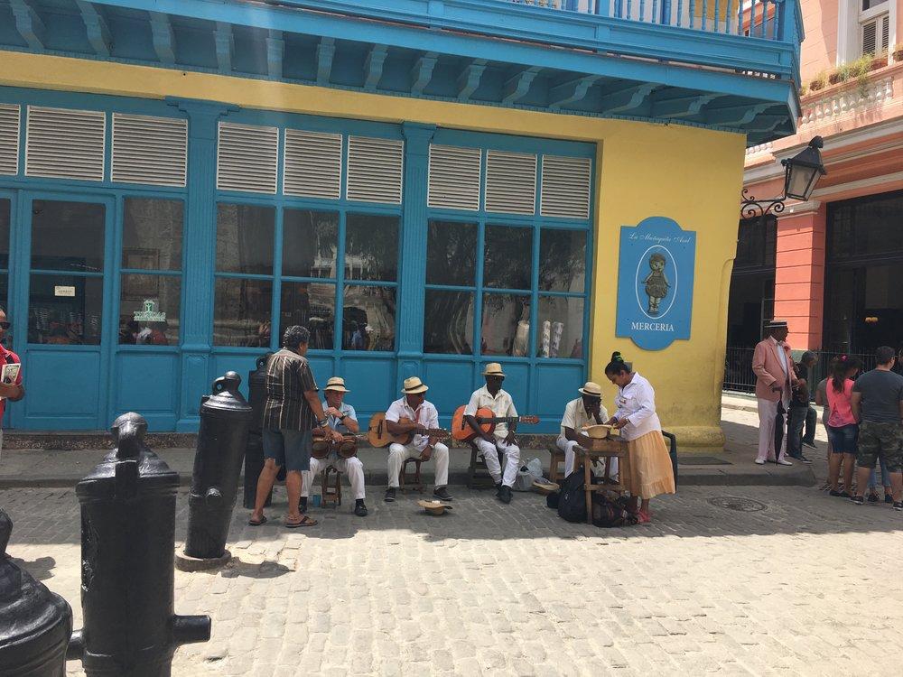 Deep in Old Havana.