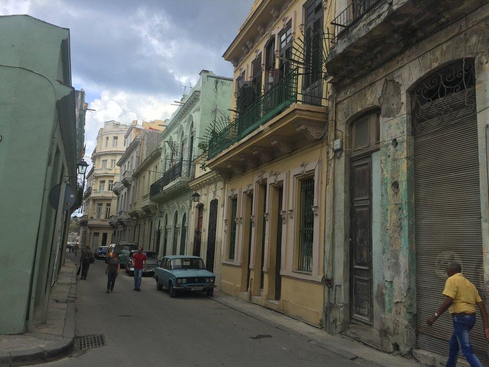 Street near Plaza de Catedral