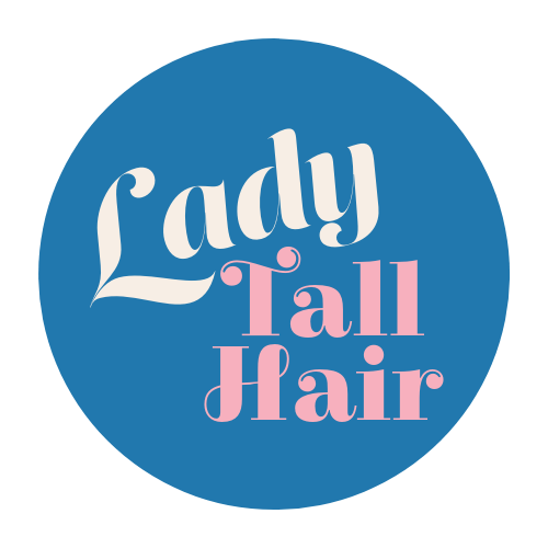 lady tall hair