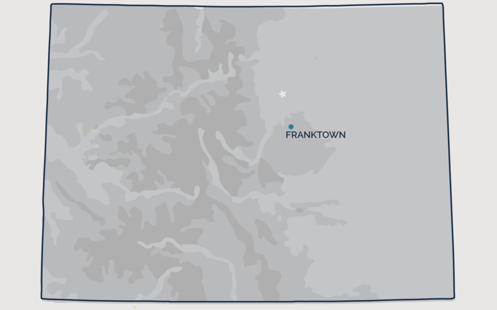 FRANKTOWN, Colorado - Your health and satisfaction are important to us. We are located in Littleton, Colorado and are pleased to provide our professional, honest, and affordable radon testing and mitigation services to happy and satisfied customers all along the front range of our beautiful State of Colorado.