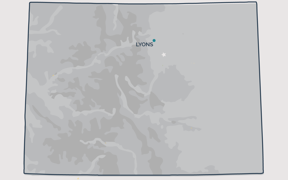 LYONS, Colorado - Your health and satisfaction are important to us. We are located in Littleton, Colorado and are pleased to provide our professional, honest, and affordable radon testing and mitigation services to happy and satisfied customers all along the front range of our beautiful State of Colorado.
