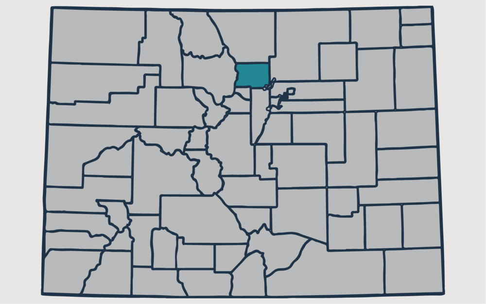 BOULDER COUNTY, Colorado - Your health and satisfaction are important to us. We are located in Littleton, Colorado and are pleased to provide our professional, honest, and affordable radon testing and mitigation services to happy and satisfied customers all along the front range of our beautiful State of Colorado.