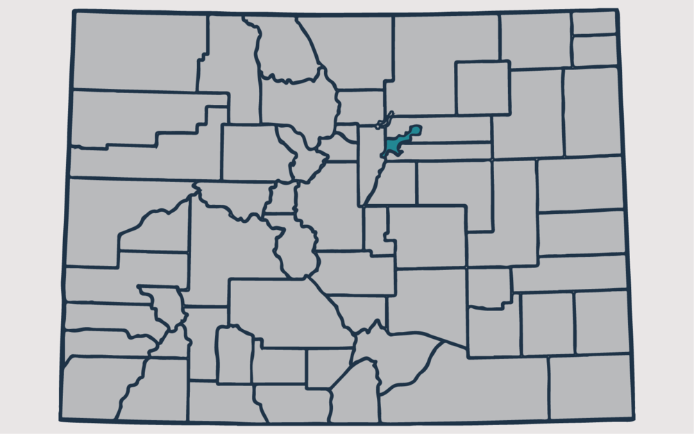 DENVER COUNTY, Colorado - Your health and satisfaction are important to us. We are located in Littleton, Colorado and are pleased to provide our professional, honest, and affordable radon testing and mitigation services to happy and satisfied customers all along the front range of our beautiful State of Colorado.