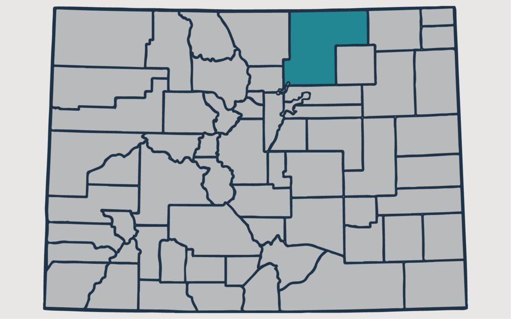 WELD COUNTY, Colorado - Your health and satisfaction are important to us. We are located in Littleton, Colorado and are pleased to provide our professional, honest, and affordable radon testing and mitigation services to happy and satisfied customers all along the front range of our beautiful State of Colorado.