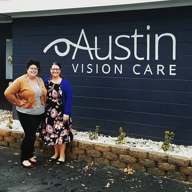 South Fayetteville just got new a local business! I'm so excited to have attended the grand opening of @austinvisioncare ! Dr. Laura Austin and her staff are lovely, the office is beautiful, and they have really nice selection of eyeglasses. I even found a pair with sparkles!  Small businesses play a crucial role in a thriving local economy. My family, my campaign team, and I are all small business owners. Every day we see the same challenges that entrepreneurs and hard working people in Fayetteville face. I'm ready to work hard for our local businesses and I ask for your vote in the runoff on December 4th  Also, I painted that sign!