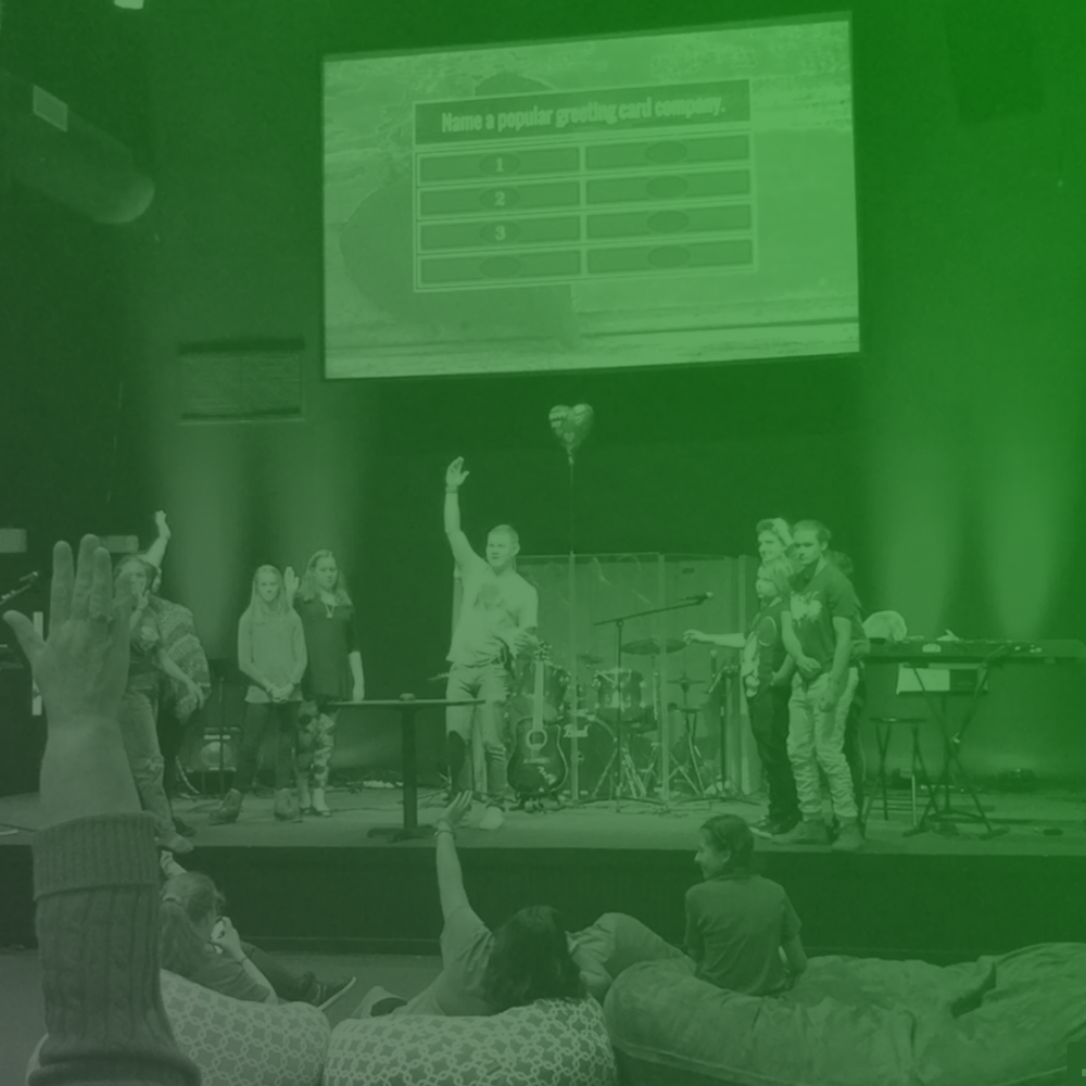 STUDENT MINISTRY - Our student ministry is for middle and high school students with their own worship service on Wednesday evenings.