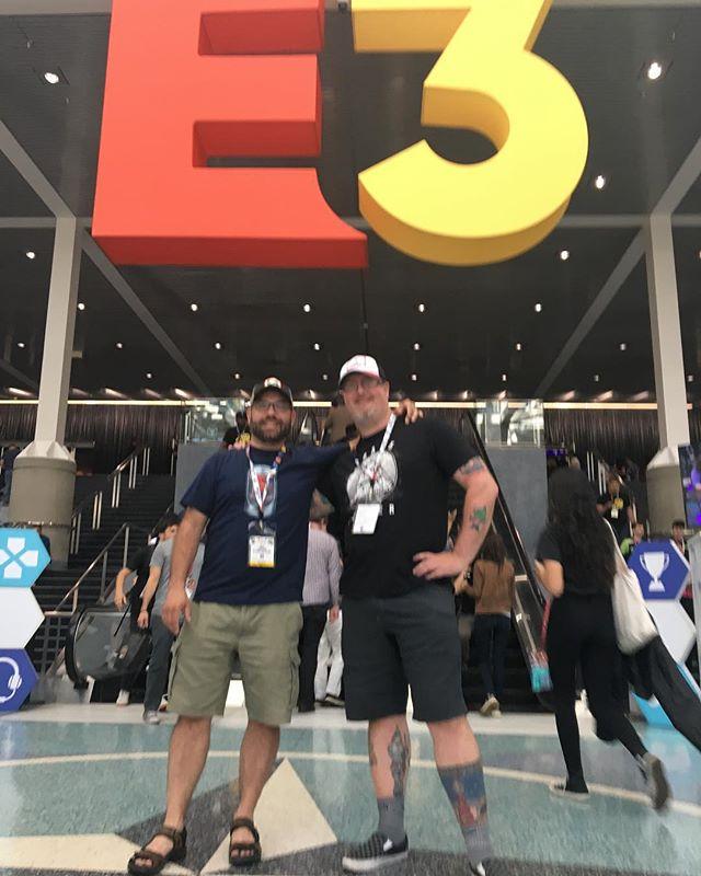 D3 at E3 in LA. #d3podcast
