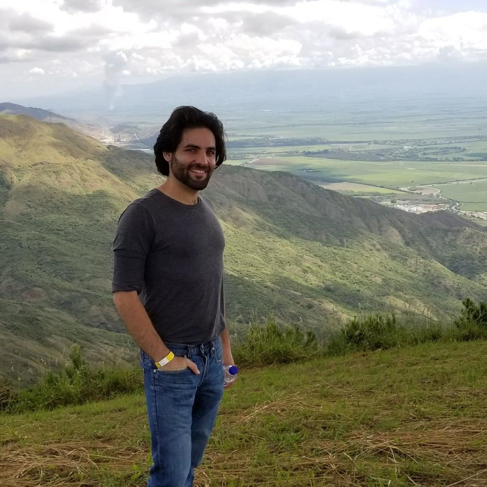 Traveling is my way to infuse my life with self-awareness, passion and excitement. I had this picture taken on a large hill in Yumbo, Colombia, right before jumping off of it...