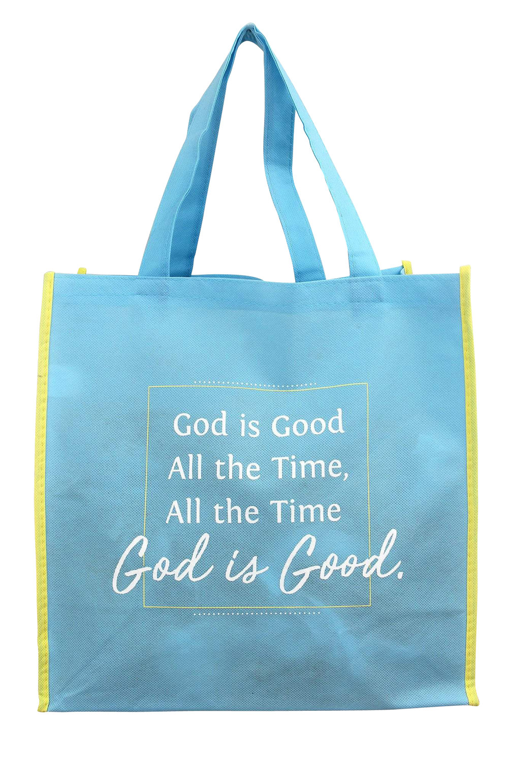 God Is Good Christian Scripture Saying Phrase Tote