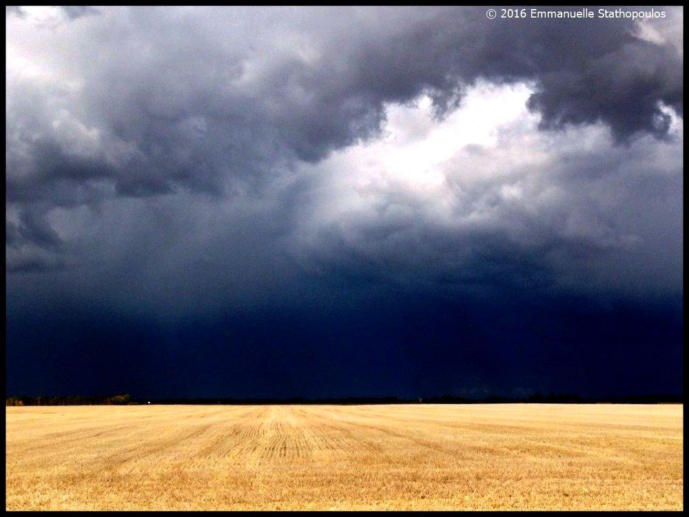 Alberta stormy horizon