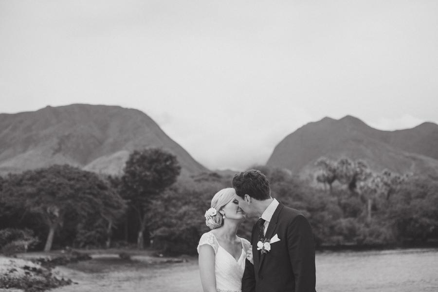 katherine and ryan olowalu wedding portraitt