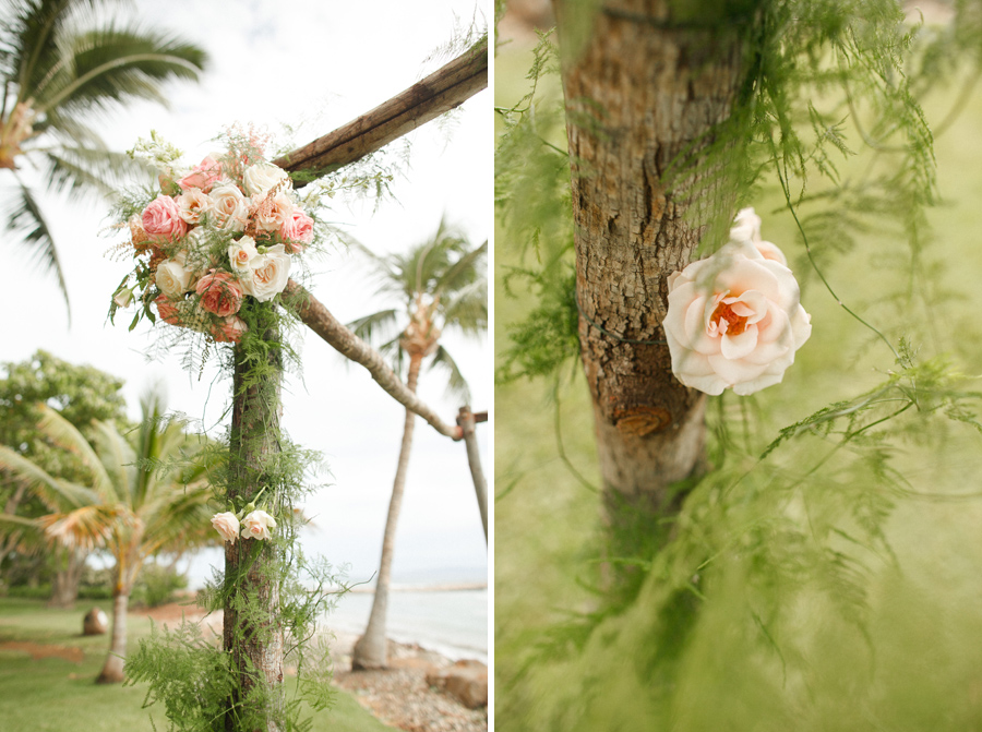 olowalu ceremony florals