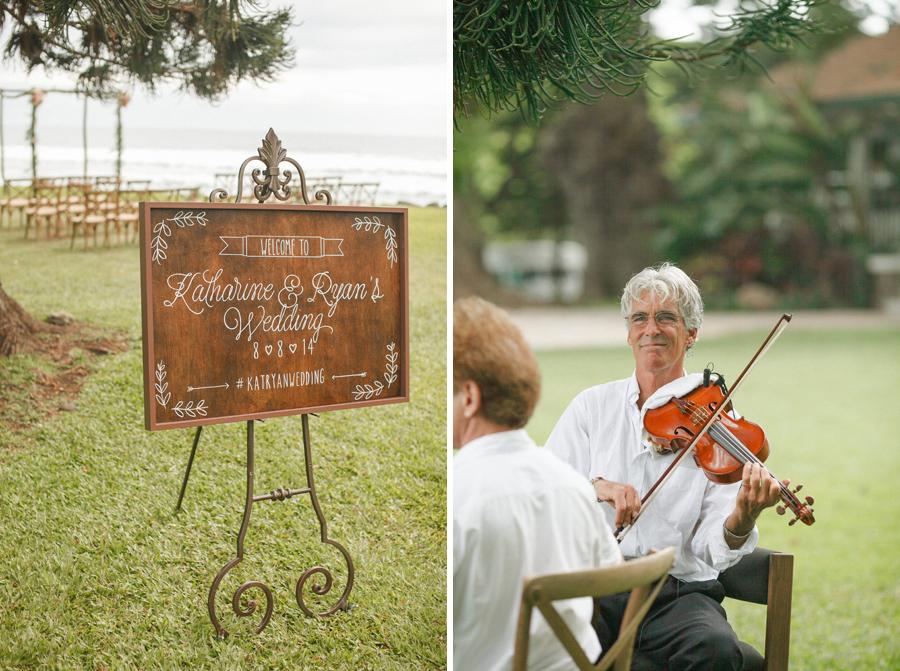 olowalu ceremony violinist