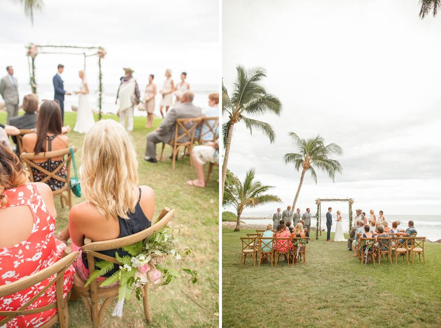 olowalu lahaina maui wedding ceremony