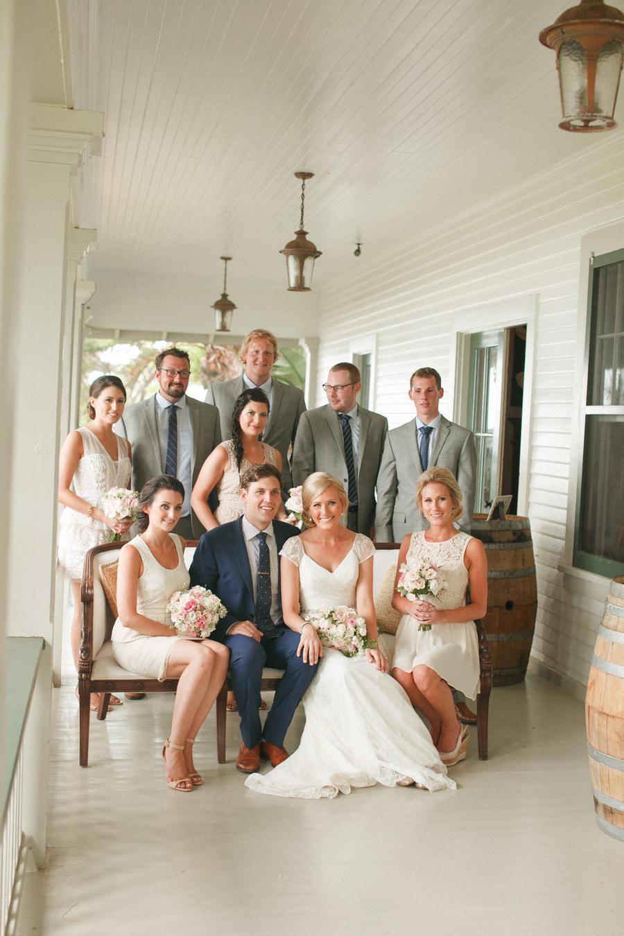 olowalu wedding bridal party