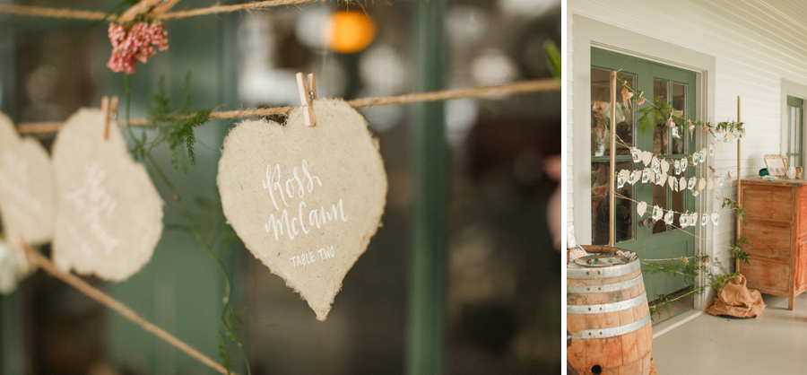 olowalu wedding table setting