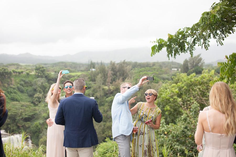 Kauai  Wedding Photographer Selfie
