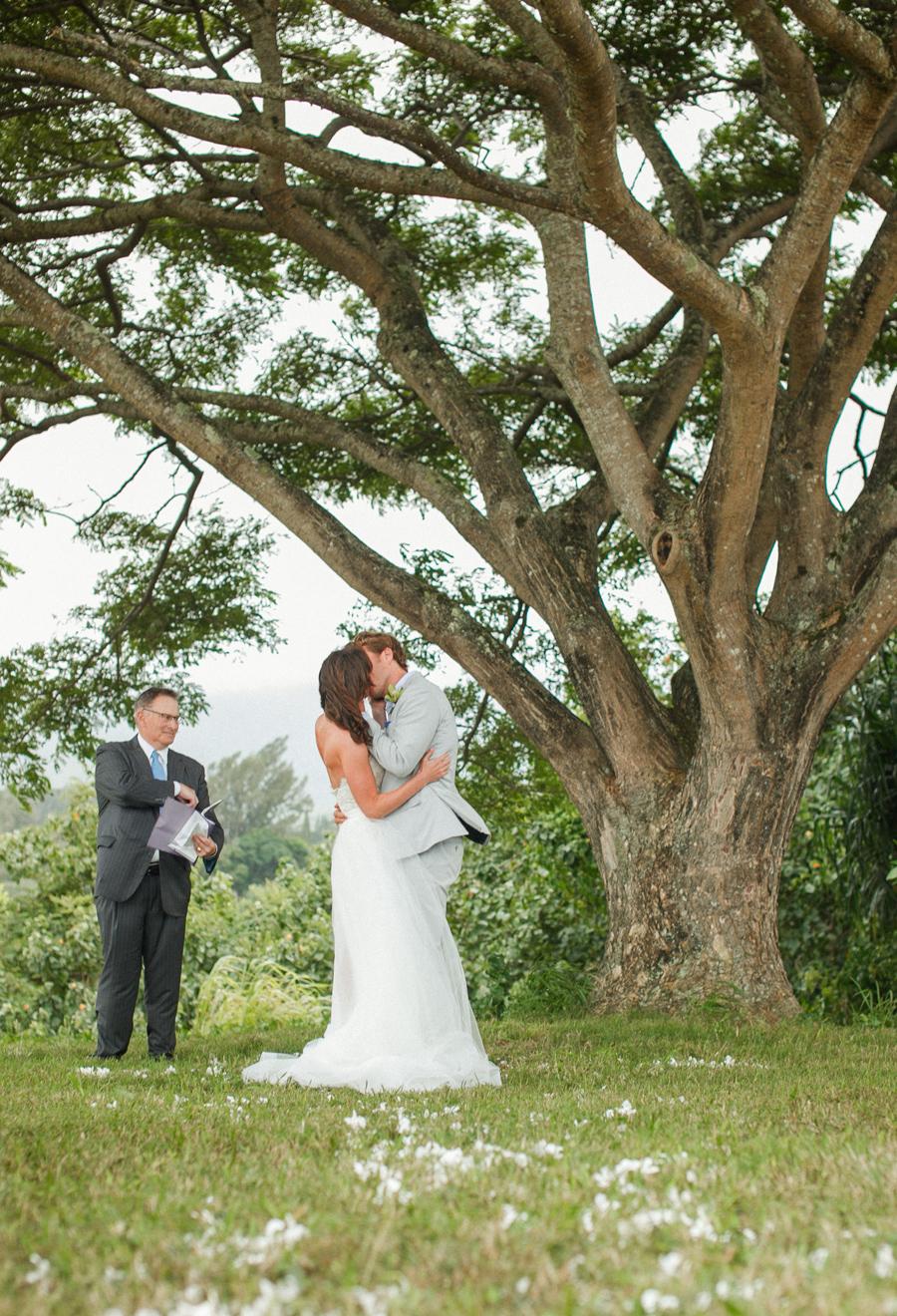 Romantic Kauai Wedding Ceremony