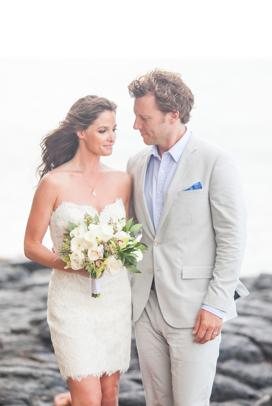 Romantic Kauai Wedding Portraits