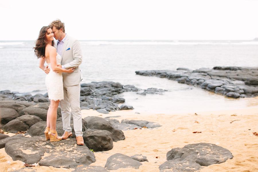 Romantic Kauai Wedding Portraits Janee & Ryan