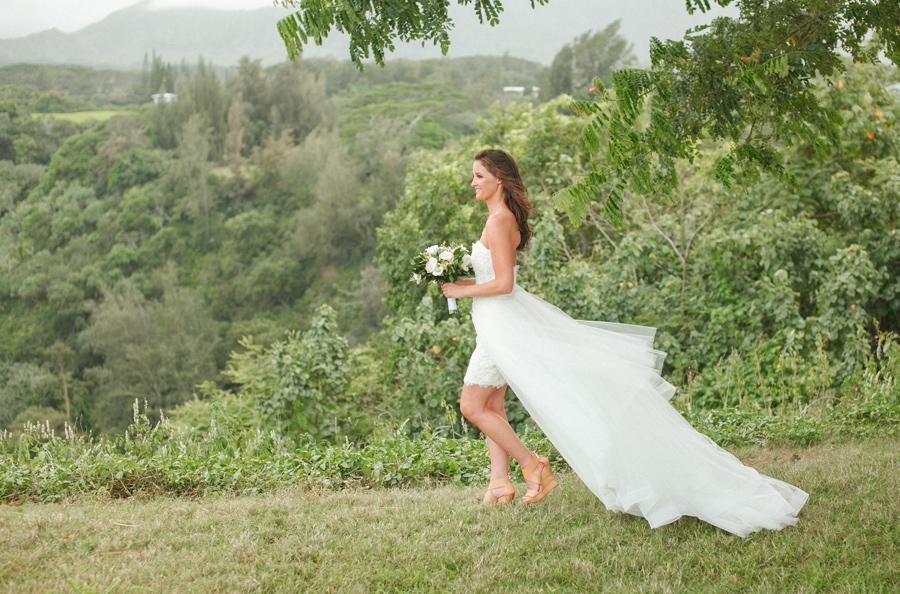 Romantic Kauai Wedding Portraits Janee