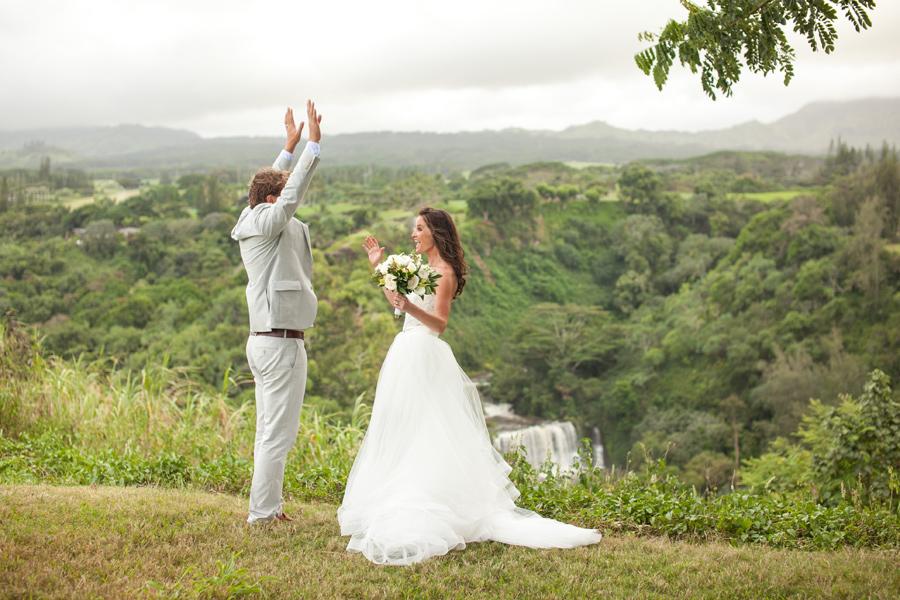 Romantic Kauai Wedding Portraits Janee & Ryan fun