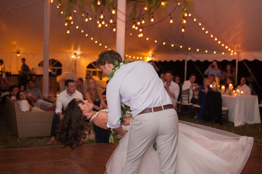Swanky Kauai Wedding Reception Dance photographer