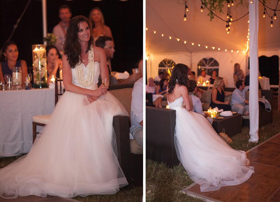 Swanky Kauai Wedding speech photographer