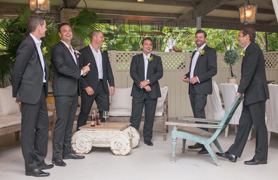 groomsmen laugh haiku mill