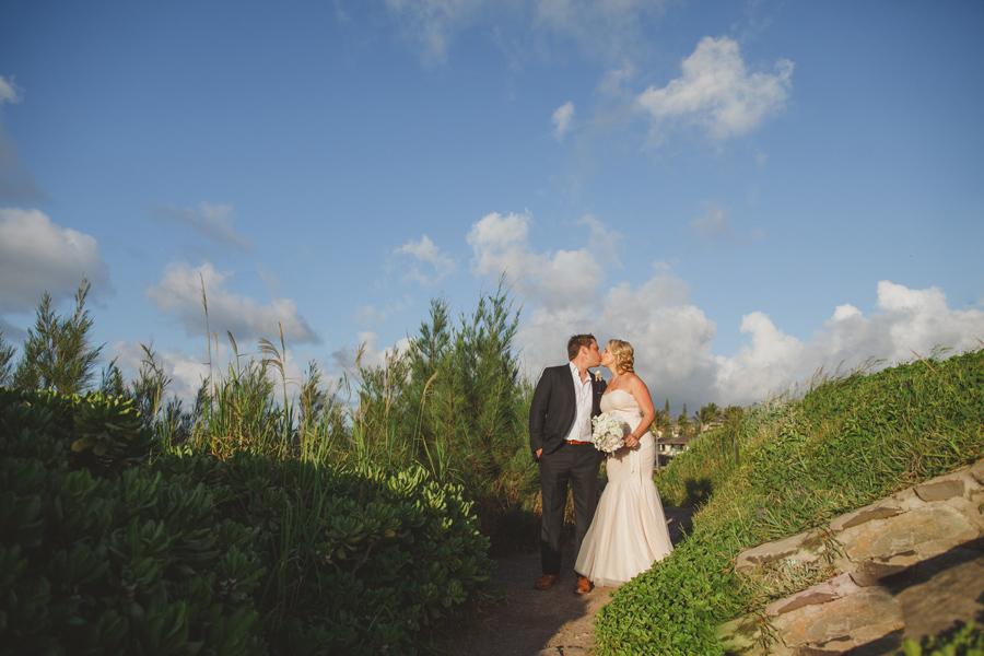 Romantic Kapalua Wedding Photography