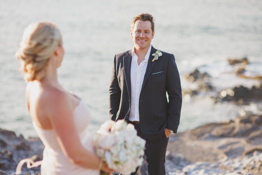 Romantic Maui Beach Wedding Photographer