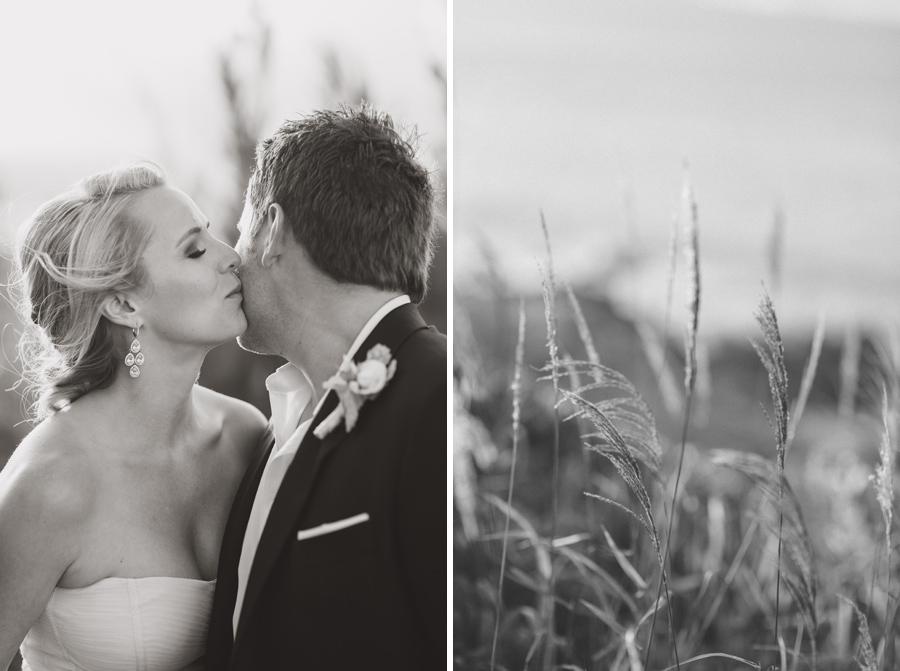 Black and White Romantic Wedding Maui Photographer